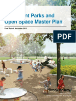 Waterfront Parks and Open Space Master Plan
