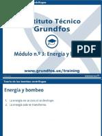Módulo 3. Energía y Bombeo