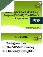 UMak_Presentation of VP Brawner