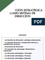 Tema 1 El Marco de La Dirección Estratégica