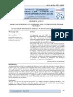 A RARE CASE OF PROXIMAL ULNA ANEURYSMAL BONE CYST TREATED WITH FIBULLAR STUD GRAFT.