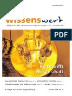 wissenswert Dezember 2017 – Magazin der Leopold-Franzens-Universität Innsbruck