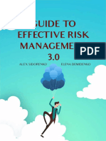 GUIDE TO EFFECTIVE RISK MANAGEMENT 3.0