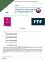 Kahramanmaras Sutcu Imam University Journal of Engineering Sciences » Journal » DergiPark