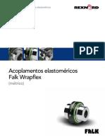 491 110 p Acoplamentos Elastomericos Falk Wrapflex Metrico