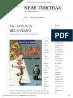 La Teología Del Gusano _ Las Líneas Torcidas