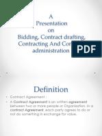 Contract Presentation