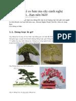 Các dáng thế cơ bản của cây cảnh nghệ thuật bonsai.doc