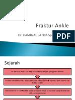 Ppt Fraktur Ankle