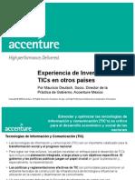 Experiencia de Inversión en TICS en otros países