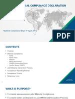 Supplier Material Compliance Declaration