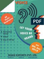 Emp Survey Poster
