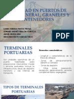 Capacidad en Puertos de Carga General, Graneles y Contenedores