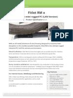 Datasheet Fitlet Rm x v1.1