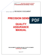 Quality_manual Precision Sensors