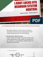 7. Analisa Root Locus Utk Peranc Sistem Kontrol