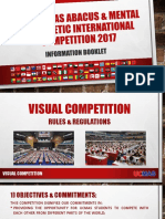 Information Booklet 22nd UCMAS Abacus & Mental Arithmetic International Competition 2017
