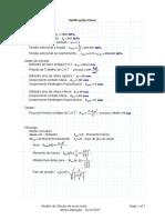 Modelo de Cálculos de Eixos