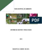 Contenido Informe de Gestion 2014-V1