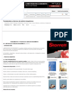 Fundamentos y Técnicas de Análisis Bioquímicos