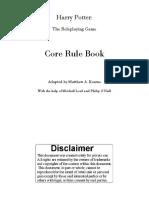 Harry Potter Core Rule Book