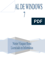 Manual Windows Seven