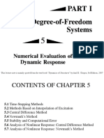 Numerical Evaluation of Dynamic Response