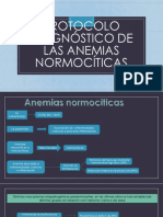 Protocolo Diagnóstico de Las Anemias Normocíticas