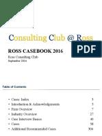 Ross Case Book 2016