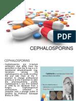 Cephalosporins Report