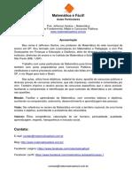 Exercícios de Mínimo Múltiplo Comum (MMC) e Máximo Divisor Comum (MDC) Para Concursos Públicos