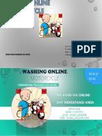 Washing Online Motorcycle
