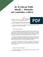 03. CPM - Método Do Caminho Crítico