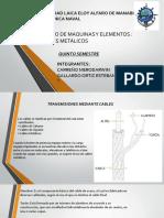 diseño de cables metalicos