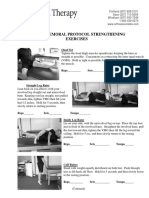PFS Strengthening Exercises