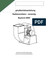 02 Operating Manual Fan MXE 03 De