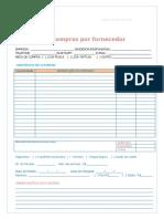 Caderno de Fornecedores