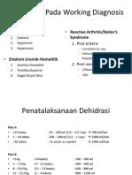Komplikasi WD Dan Penatalaksanaan Dehidrasi
