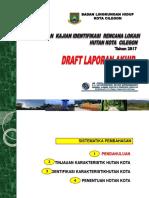 Ppt Draft Lap Akhir Hutan Kota Cilegon Thn 2017