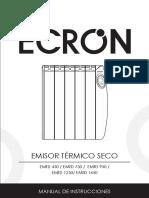 Ecron Manual Emisores t Rmicos Secos Emtd450 Emtd750 Emtd950 Emtd1250 Emtd1450