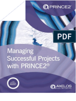 Managing Successful Projects With PRINCE2 2017 6th Edition