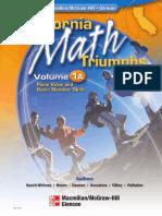 California Math Triumphs Vol 1A.pdf