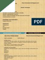 EJEMPLOS DE FICHAS TÉCNICAS DE PLANTAS AROMÁTICAS MEDICINALES. PINEDA RESEARCH