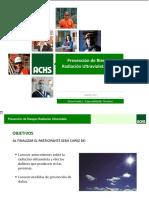 Prevención de Riesgos Radiación Ultravioleta Solar