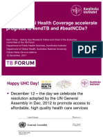 Dr Kerri Viney's presentation in UHC Day Webinar on 12th December 2017