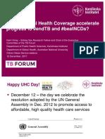 Dr Kerri Viney's presentation in UHC Day Webinar on 12th December 2017