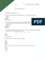 Answers to E1
