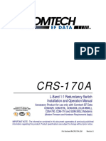 SWitch de modem  Crs170a