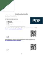 Entity Formation Checklist DHZ Rev 20140701