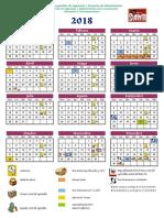 Calendario Anual2018
